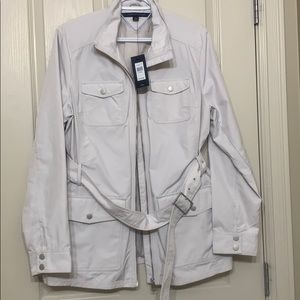 NWT Tommy Hilfiger Short Trench Coat XL